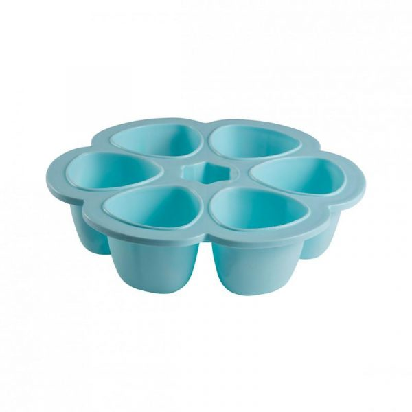 beaba-912456-5-multiportions-silicone-6150-ml-bleu
