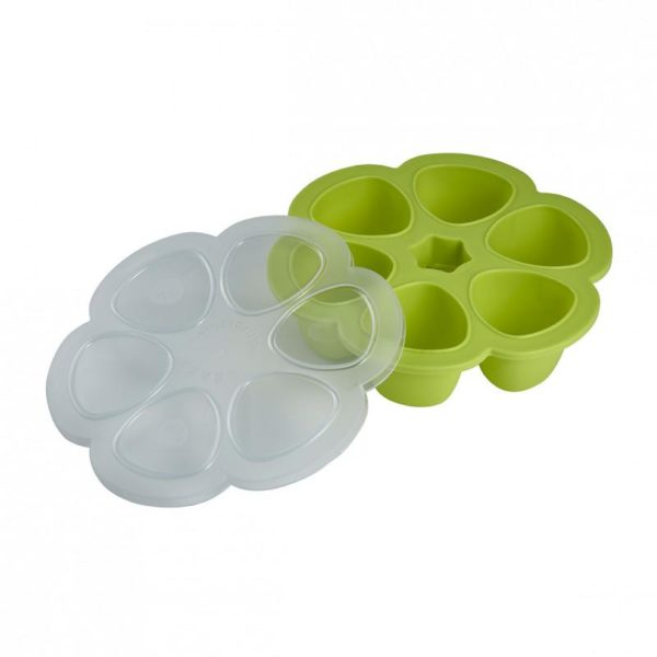beaba-912454-4-multiportions-silicone-690-ml-neon