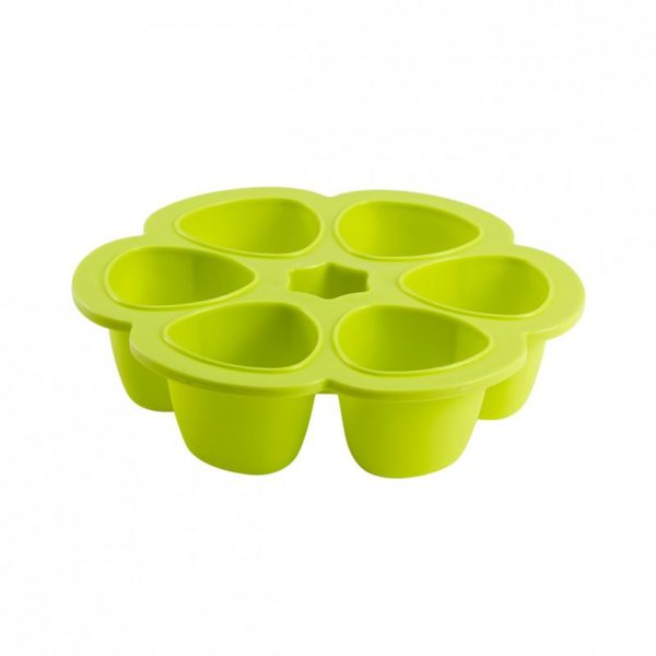 beaba-912454-5-multiportions-silicone-690-ml-neon