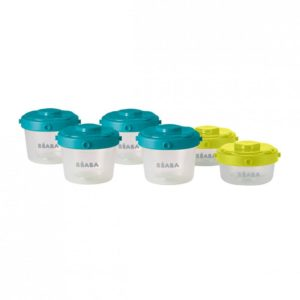 beaba-912481-3-lot-de-6-portions-clip-1er-age-60-et-120-ml-neon