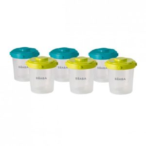 beaba-912482-2-lot-de-6-portions-clip-2eme-age-200-ml-neon