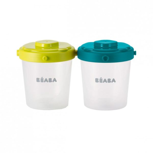 beaba-912482-3-lot-de-6-portions-clip-2eme-age-200-ml-neon