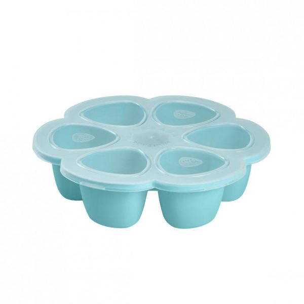 beaba-912493-1-multiportions-silicone-690-ml-bleu